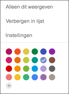 Selecteer Instellingen in uw Google-agenda.