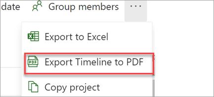 Exporteren naar PDF