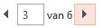 U kunt door het afdrukvoorbeeld bladeren met de pijlen onder aan het voorbeeldpaneel.