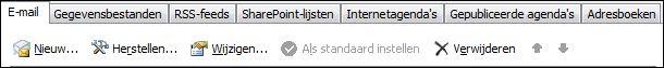 Outlook 2010: nieuw account toevoegen