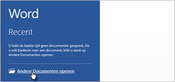 Andere documenten openen