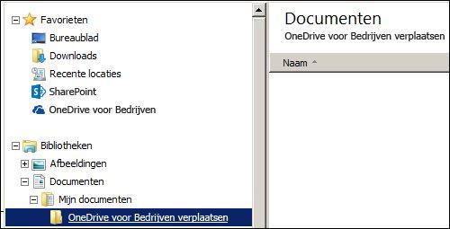 een map waarin u bestanden tijdelijk opslaat die moeten worden verplaatst naar Office 365