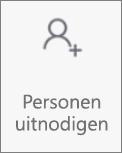 De knop Personen uitnodigen in OneDroid voor Android