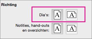 Afdrukstand in PPT voor Mac