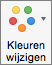 Selecteer Kleuren wijzigen op het tabblad Grafiekontwerp