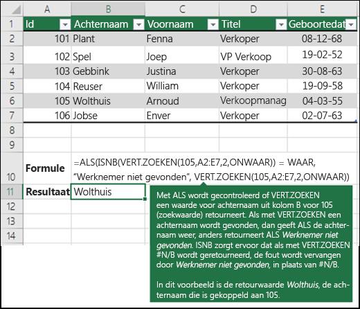Citaten Zoeken Excel : Verticaal zoeken vert in excel