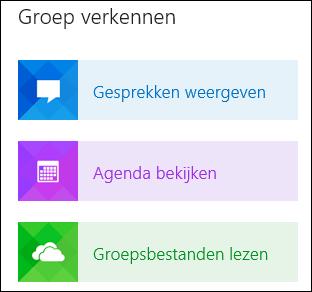 Een groep ontdekken in Outlook