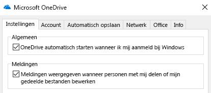 Als u alle meldingen voor gedeelde OneDrive-bestanden wilt uitschakelen, gaat u naar de instellingen van uw OneDrive-app en schakelt u deze uit.