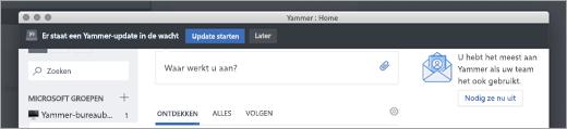 Updates voor Yammer-App