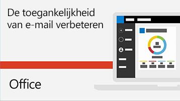 Video De toegankelijkheid van e-mail verbeteren.