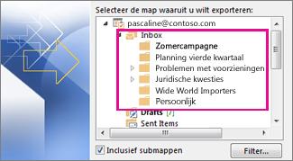 E-mailmappen