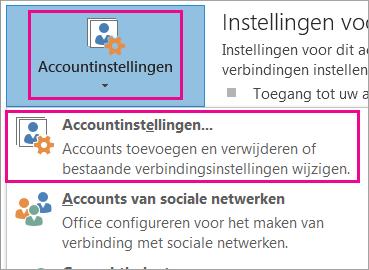 Als u op Profiel weergeven klikt, worden details van zakelijke gegevens weergegeven.