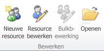 Resourcebewerkingsgroep in PWA