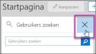 Schermafbeelding van het verwijderen van een widget uit het beveiligings- en compliancecentrum