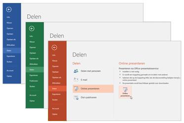 Samenwerken via andere Office 365-apps