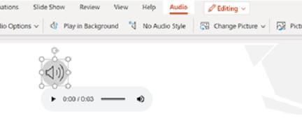 Audio invoegen