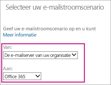 Van de e-mailserver van uw organisatie naar Office 365
