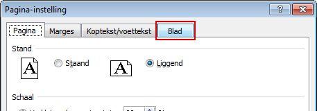 Click the Sheet tab.