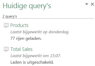 Het downloaden van een query uitschakelen