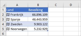 Nieuwe kolom toegevoegd, waarden komen uit de gekoppelde record