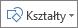 Przycisk Wstaw kształty w programie Excel