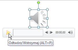 Odtwarzanie klipu audio