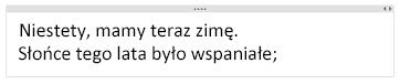 Wpisywanie tekstu