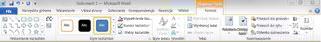 Karta Formatowanie w obszarze Narzędzia do rysowania w programie Word 2010