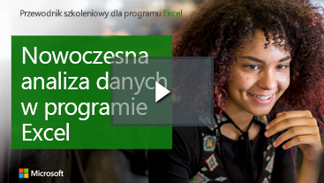 Kobieta uśmiech nauki przewodnik dla programu Excel