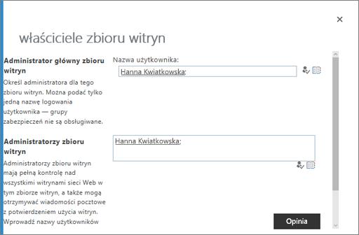 Zarządzaj właścicielami usługi OneDrive