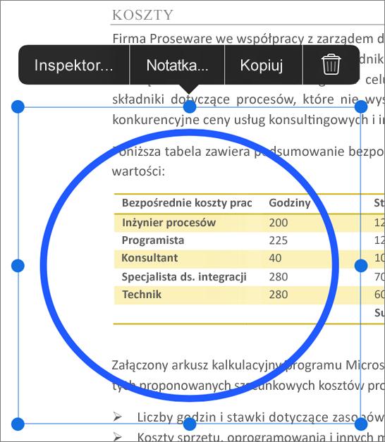 Edytowanie znaczników PDF