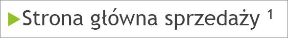 Przypis dolny z indeksem górnym w treści slajdu