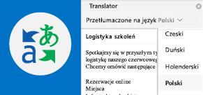 Czytanie wiadomości e-mail w programie Outlook w preferowanym języku