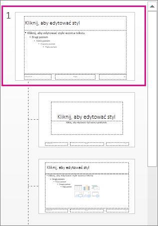Wzorzec slajdów