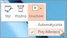 Konfigurowanie ustawień ekranu startowego