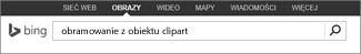 Wyszukiwanie obiektu clipart