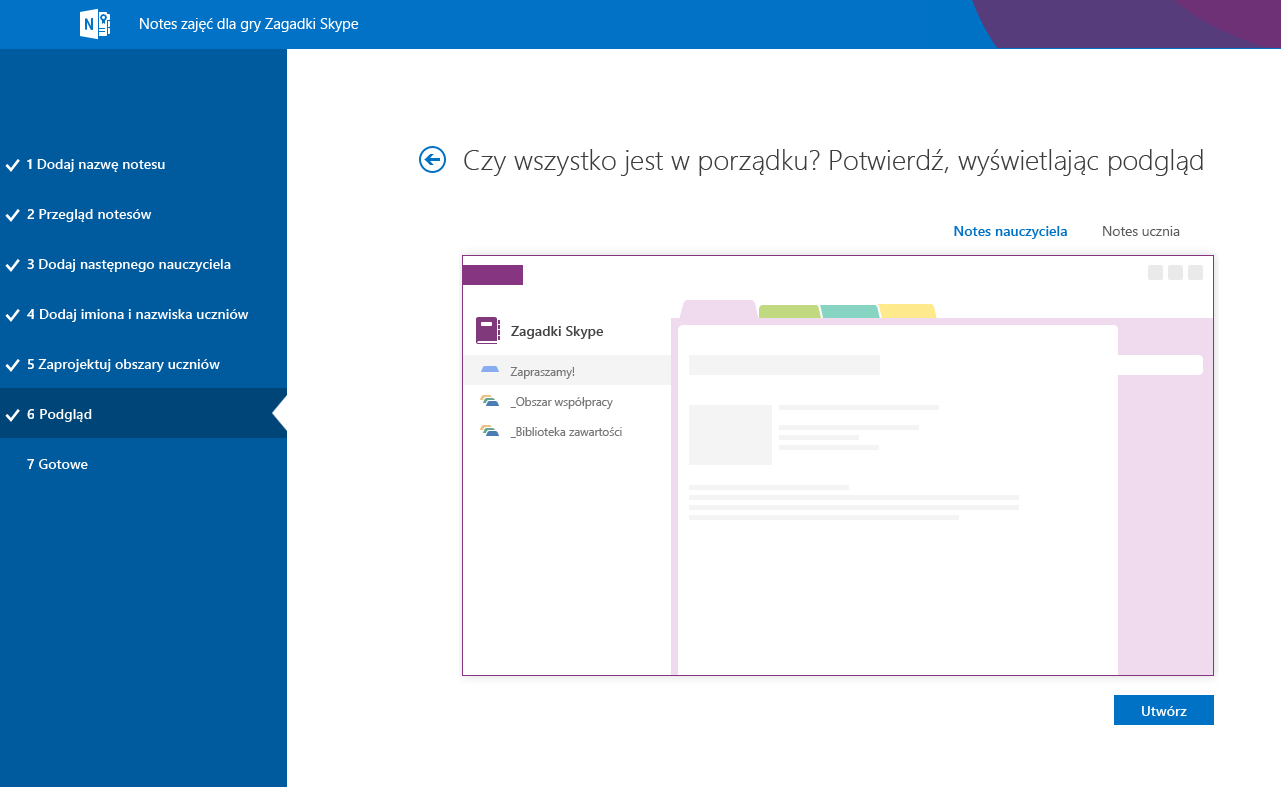 Podgląd aplikacji Mystery Skype