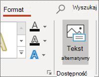 Przycisk okienko dla kształtu w programie PowerPoint dla systemu Windows