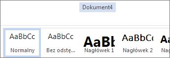 Zmienianie nazwy w usłudze Office Online
