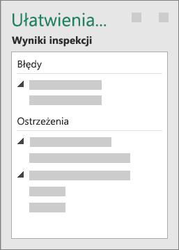 Grupa Wyniki inspekcji