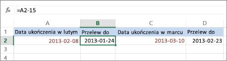 obliczanie daty
