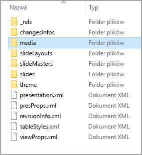 Lokalizacja folderu multimediów