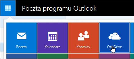 Zrzut ekranu przedstawiający Kafelek programu OneDrive w obszarze Uruchamianie aplikacji.