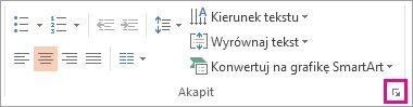 Obraz Wstążki programu PowerPoint