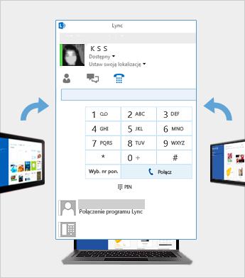 Spotkanie online przy użyciu programu Lync