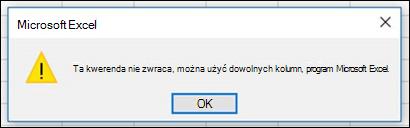 Łączenie plików binarnych komunikat o błędzie. Jest to znany błąd jest opisanej.