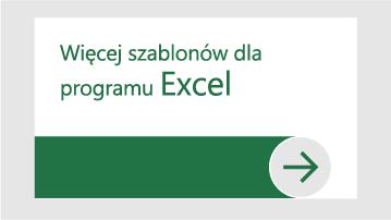 Więcej szablonów dla programu Excel