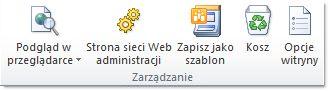 Ilustracja przedstawiająca program SharePoint Designer 2010