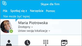 Wprowadzenie do programu Skype dla firm 2016