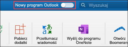 Nowy program Outlook dla komputerów Mac